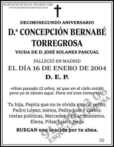 Concepción Bernabé Torregrosa